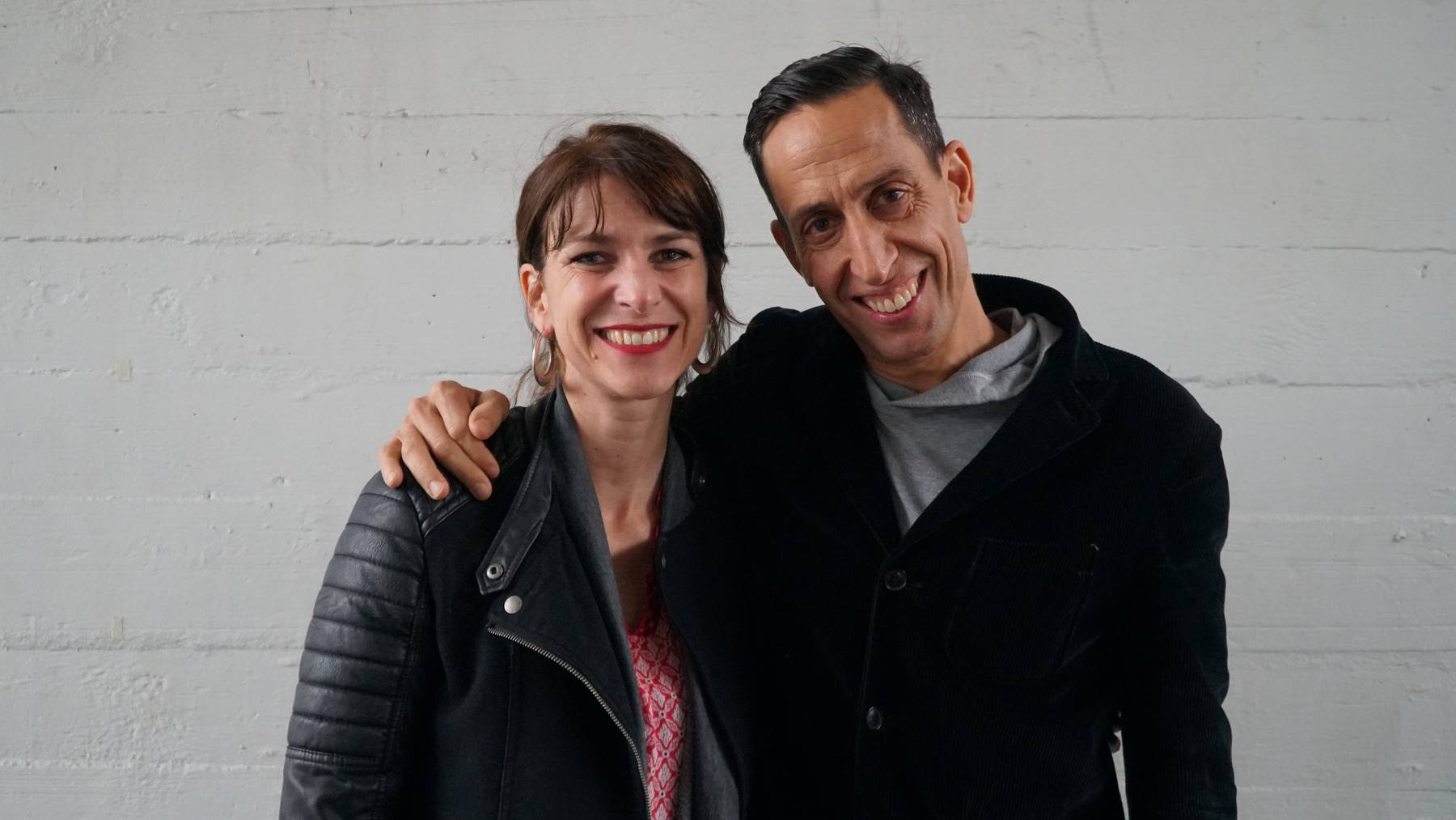 Sharon Zucker mit Martin Zimmermann