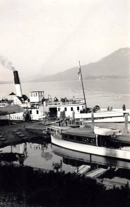 Nach einem Umbau kommt das Winkelried 1897 auf den Vierwaldstättersee und ist bis 1954 im Dienst.