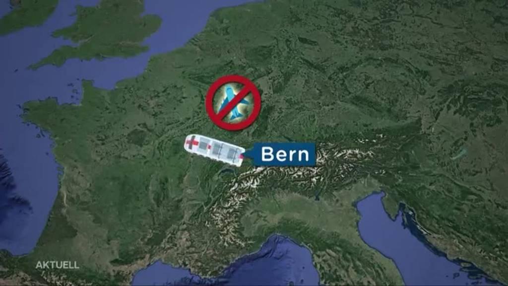 Schweizer Beamte dürfen nicht mit dem Flugzeug nach Brüssel