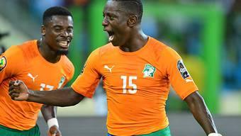Max Gradel schoss die Elfenbeinküste in die Viertelfinals