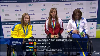 Nora Meister wurde Europameisterin.