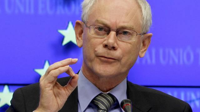 EU-Ratspräsident Herman Van Rompuy