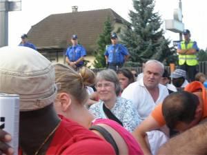 Sans Papiers demonstrieren in Eiken (ZVG)