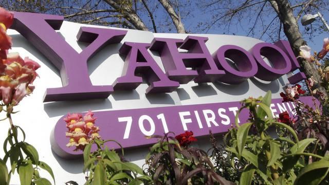 Das Logo von Yahoo (Archiv)