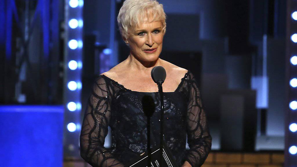 Glenn Close erhält am Zurich Film Festival Award