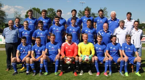 Teamfoto FC Subingen II