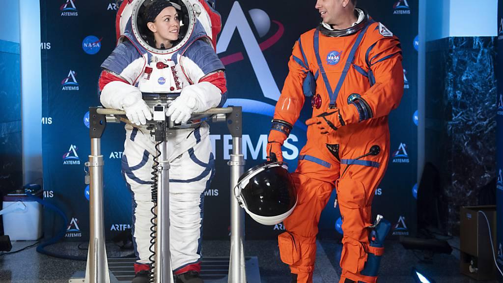 Hüpfen ade: Neuer Raumanzug erlaubt Astronauten geschmeidigen Gang