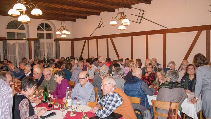 94 Mitglieder der Sektion Homberg des Schweizer Alpen-Clubs besuchten die 100. Generalversammlung