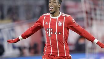 Matchwinner für Bayern gegen Hannover: Kingsley Coman