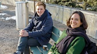 Die neue Führungscrew des GLP-Labs: Leiter Markus Koch und Präsidentin Julie Cantalou.