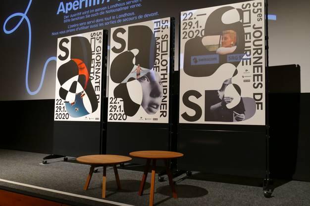Die Visuals der 55.Solothurner Filmtage wurden vorgestellt