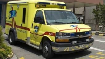 Eine Ambulanz in Lausanne (Archiv)