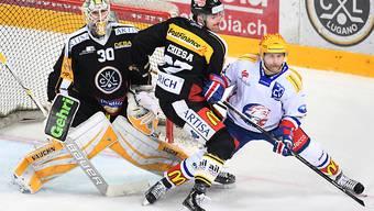 Lugano mit Goalie Elvis Merzlikins stoppte den ZSC mit Topskorer Patrick Thoresen