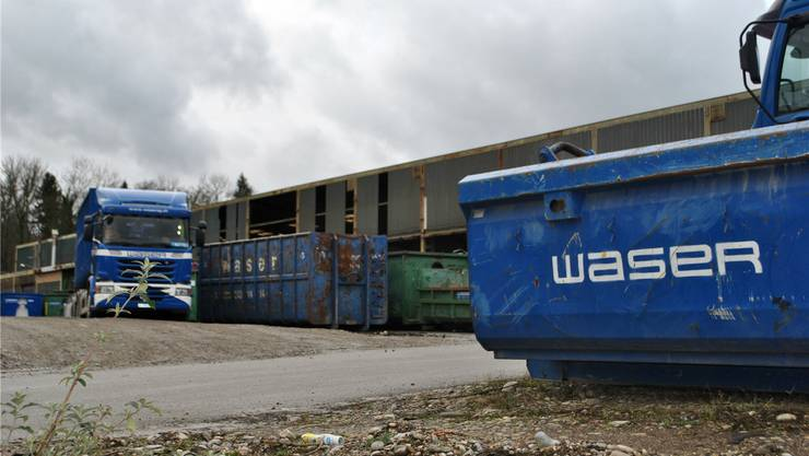In Rheinfelden baut die Waser Entsorgung AG unter anderem ein neues Bürogebäude. Ende Juni beginnen die Bauarbeiten. Archiv/nbo
