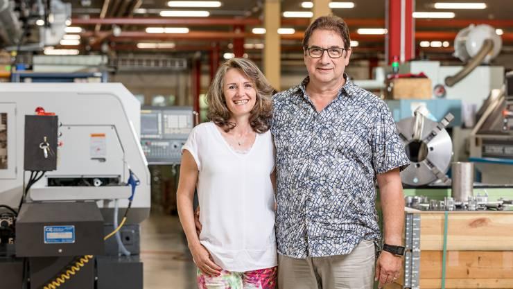 René Schaffner und Denise Schaffner-Gribi sind Inhaber der Gribi Hydraulics AG in Bergdietikon.