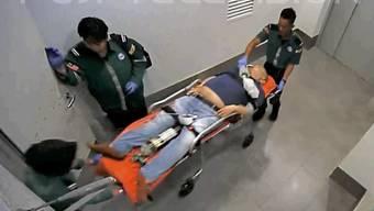 Der Halbbruder von Nordkoreas Machthaber Kim Jong Un brach am Flughafen von Kuala Lumpur in Malaysia nach einer Giftattacke zusammen. Er starb auf dem Weg ins Spital. (Archivbild)