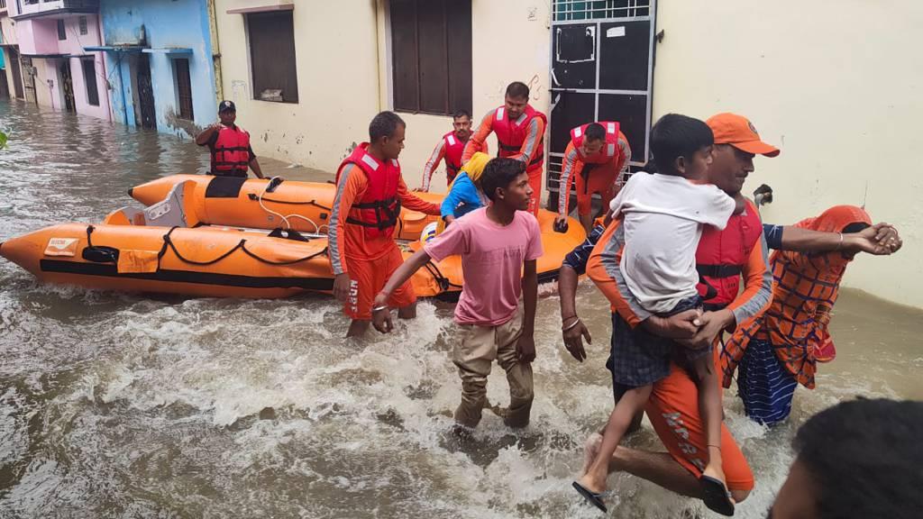 Mindestens 34 Tote nach Starkregen in Indien