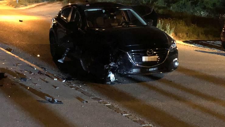 Unschuldig in den Raserunfall verwickelt: Eine Mazda-Lenkerin und zwei Insassen.