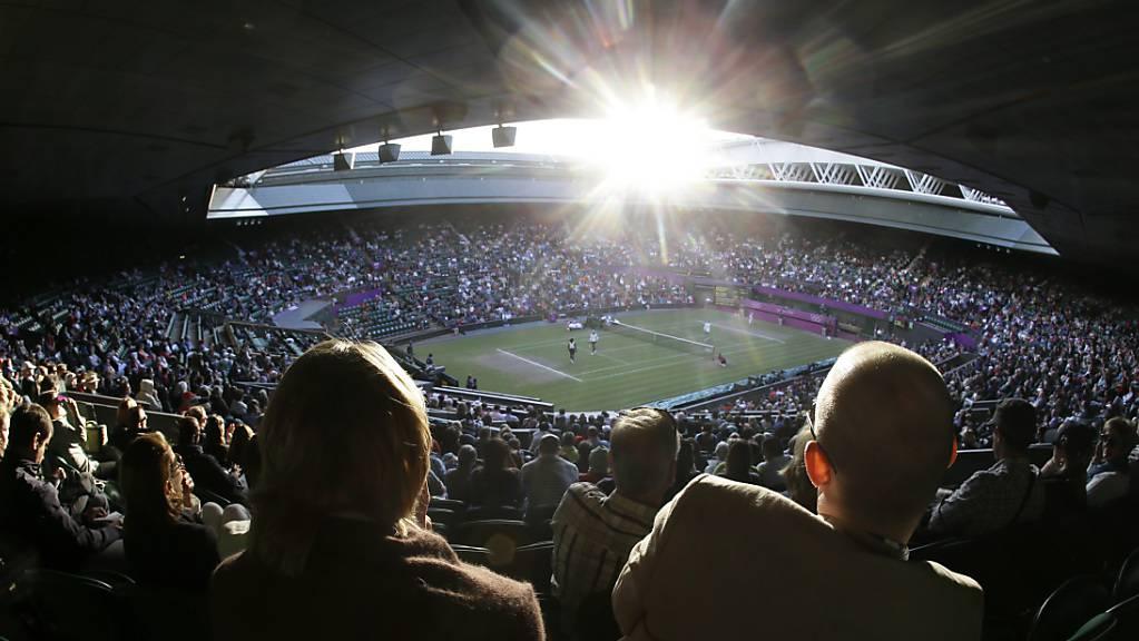 Rückkehr zur Normalität? Der Wimbledon-Final soll wieder in ausverkauftem Stadion stattfinden.