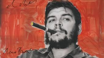 """Die Fotografie """"El Che"""" (2005) ist in der Ausstellung """"René Burri, l'explosion du regard"""" im Musée de l'Elysée in Lausanne zu sehen. Sie dauert vom 29. Januar bis 3. Mai."""