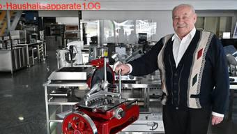 """Paul von Arx ist der Gründer PAVA AG, Oensingen. """"Ich arbeite nicht, ich lebe"""", sagt er bis heute."""