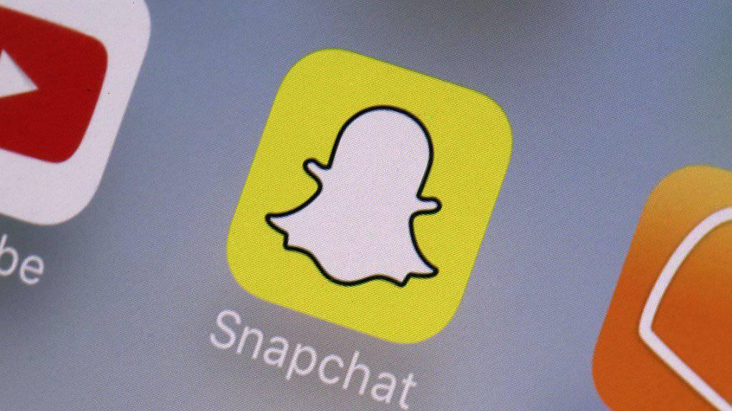 Aktien +30 Prozent: Die Foto-App Snapchat findet bei Kundschaft immer mehr Anklang. (Archivbild)