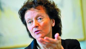 Bundesrätin: Eveline Widmer-Schlumfp kommt nach Langenthal.