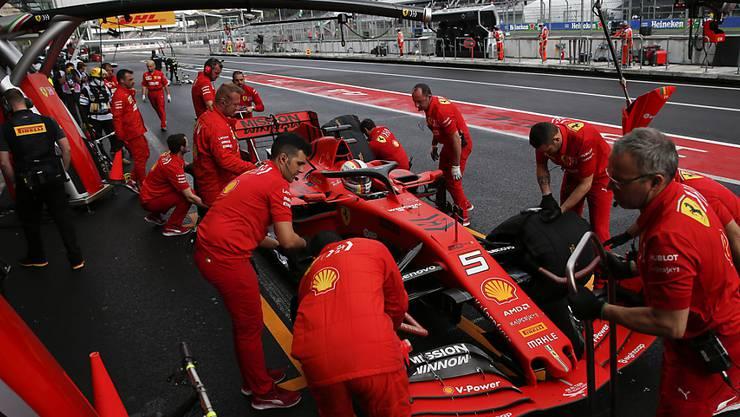 Das rote Bijou soll Ferrari wieder einmal einen WM-Titel eintragen