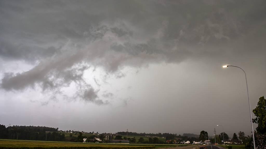 Unwetter haben Schäden von über 200 Millionen Franken zur Folge