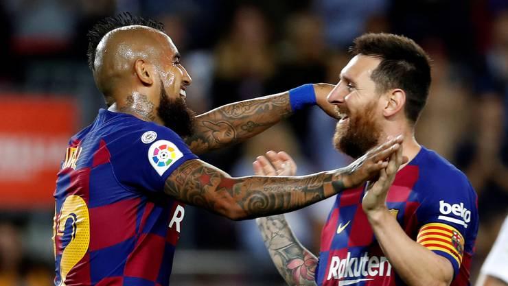 Besuch empfangen dürfen Spaniens Rentner zwar nach wie vor nicht. Dafür aber bald umsonst Lionel Messi und seinen Barça-Teamkollegen zuschauen. Immerhin.
