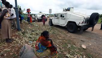 Im Südsudan befinden sich bereits 13'000 Blauhelme. Der UNO-Sicherheitsrat will die Truppe nun aufstocken. (Archivbild)