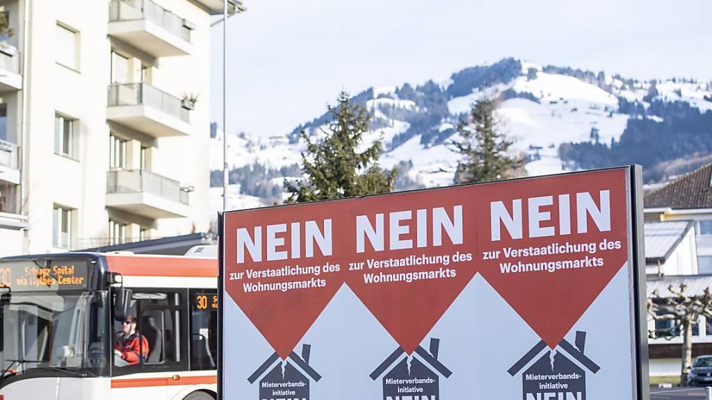 Maximal 1'000 Franken anonyme Spenden für Schwyzer Parteien pro Jahr