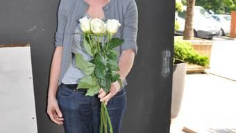 Blühende Leidenschaft: Yvonne Roth hat ein Händchen für Blumen.