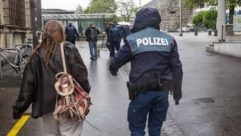 Drogenkontrolle Stadtpolizei Solothurn