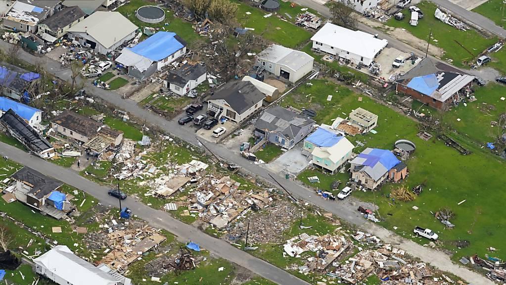 Die Aufräumarbeiten nach dem verheerenden Hurrikan «Ida» gehen in mehreren US-Bundesstaaten weiter.