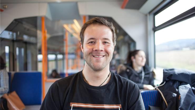 """Jonathan Zumsteg (27) wohnt in Beinwil am See und will beim Konzertlokal """"Dynamo"""" arbeiten."""