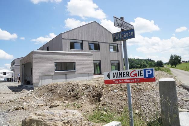 100 Minergiehäuser hat die Setz Architektur AG bereits geplant.