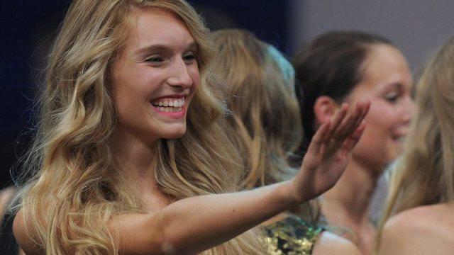 Rapunzel auf dem Laufsteg: Nachwuchs-Model Manuela Frey (Archiv)