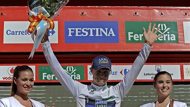 Nicolas Roche neuer Leader der Spanien-Rundfahrt.