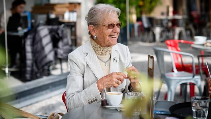 Je älter sie werde, umso wissbegieriger sei sie, erzählt Margrit Gloor beim Kaffee.