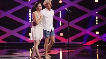 Gessica und Romano auf der Bühne von «Got to Dance».