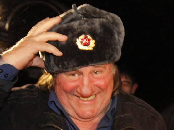 Depardieu hat im slawischen Raum noch weitere prominente Freunde: Der tschetschenische Machtinhaber Ramsan Kadyrow schenkte ihm eine Wohnung in Grosny.