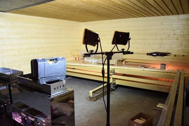 Im Bad Schinznach wurde die Aquarena Sauna erneuert.