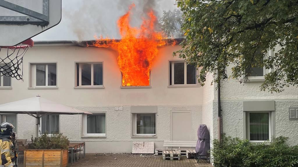 Klinik in Littenheid (TG): Feuer in Zimmer von Kinder- und Jugendstation ausgebrochen