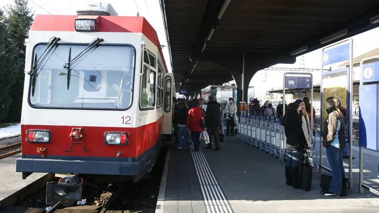 Zum Fahrplanwechsel 2022 soll das Waldenburgerli im neuen Glanz erscheinen.