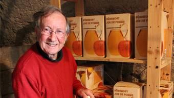 Fredy Boll macht den besten Apfelsaft der Schweiz.