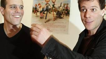 Die Filmemacher Frédéric (l.) und Samuel Guillaume (Archiv)