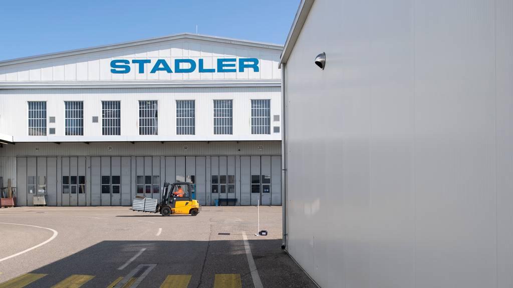 32'000 Quadratmeter: Stadler Rail braucht mehr Platz