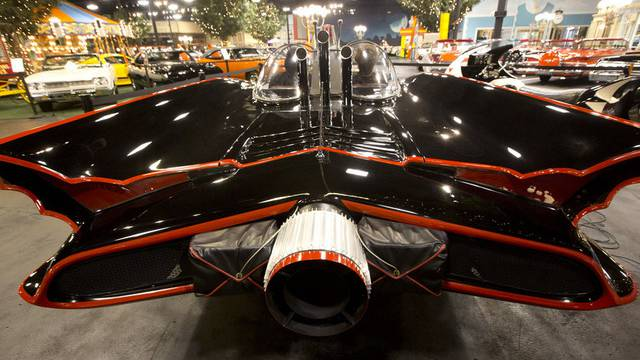 Das erste Batmobil aus dem Jahre 1966 kommt unter den Hammer (Symbolbild)