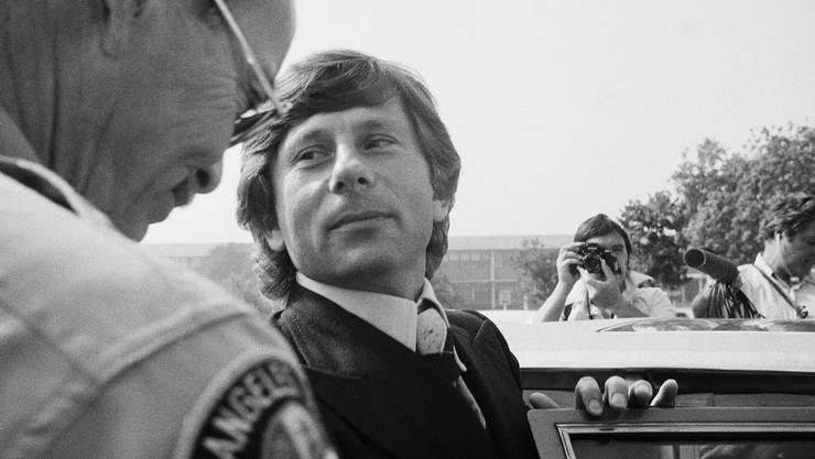 Zum Prozess kam es nie: Roman Polanski in einem Foto von 1977, als er das Gericht in Santa Monica verlässt.